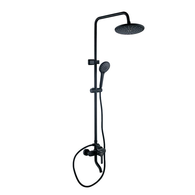 陶的卫浴 黑色三功能淋浴花洒 TD-WX1181